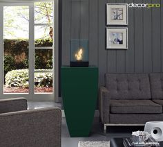 The Corby Fireburner combines the practicality of the weatherproof, lifetime warrantied Corby Planter with the welcoming warmth of the tempered glass and solid steel Cell Tabletop Fireburner. Available in 43 colors. Custom made to order.