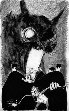 the black cat edgar allen poe Edgar Allan Poe, Fantasy Boy, Memes Arte, Creepy Cat, Art Simple, Cat City, Allen Poe, Black Cat Art, Arte Horror