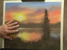 Adding sun rays. Oil Painting Lesson Wilson Bickford Sun Rays - YouTube