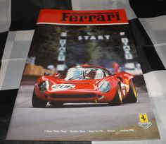 FERRARI OWNERS CLUB MAGAZINE 131 AUTUMN 2001 FERRARI 348 TS F355 250 CALIFORNIA