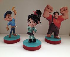 Wreck it Ralph Birthday Party Centerpieces