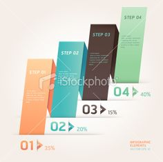 Modern paper Infographics origami banner template. Royalty Free Stock Vector Art Illustration