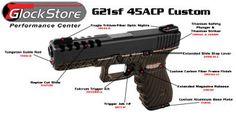 G21sf 45ACP Custom Glock by glockstore.com