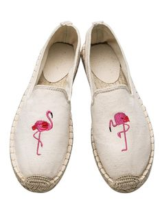 Flamingo Espadrille Flats