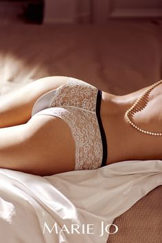 Gabrielle in meringue #MarieJo #lingerie