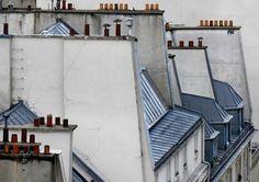 めったに見ることがない「パリの屋根」を撮影した写真シリーズ「Paris Roof Tops」 - DNA