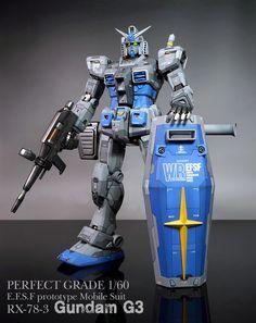 [完成] PG RX-78-3 Gundam G3 건담 G3 | 프라모델 캐릭터모형 갤러리 | 루리웹