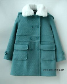 children's wear Sewing Tutorials, Sewing Patterns, Kids Coats, Rubrics, Baby Wearing, Clothing Items, Kids Wear, Diy For Kids, Canada Goose Jackets