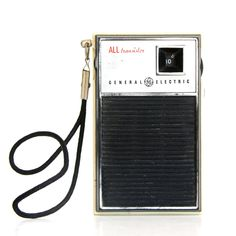 Transistor radio... to listen while baking in the sun to get a burn/tan.