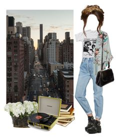 Sonic Youth by hanye on Polyvore featuring polyvore, fashion, style, Floyd, Zara, Urban Outfitters, Oasis, River Island, OKA, Fendi and Public Library