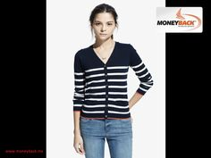 MONEYBACK MEXICO. In MANGO you can find this striped cardigan, made of a cotton blend, with a V-neck, button closure at the front, two side pockets, long sleeves and ribbed endings. Light and beautiful for a fresh look.MANGO Mexico works with Moneyback to give you a tax refund if you are traveling in Mexico. #moneybackwww.moneyback.mx   MONEYBACK MÉXICO.En MANGO encuentras este cárdigan de rayas confeccionado en una mezcla de algodón con cuello de pico, cierre de botones en la parte…