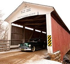 Parke County's covered bridges  Indiana