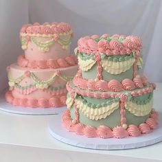 Pretty Birthday Cakes, Pretty Cakes, Bts Cake, Baby Boy 1st Birthday Party, Frog Cakes, Just Cakes, Aesthetic Food, Cute Food, Food Cravings
