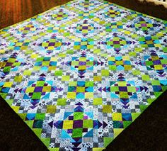 Michelle's Quilts & Stuff: Whew! Easy Street Link Up