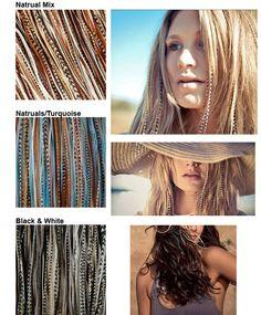 Feather hair extensions, dé haar trend van 2013! Een hippe zomerlook creëer je met deze feather extensions.