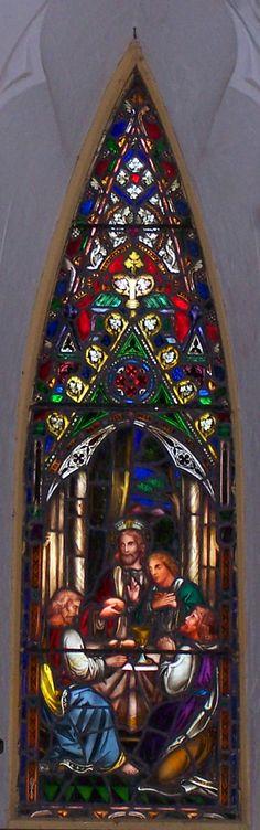 Window, St. John's Church, Barbados