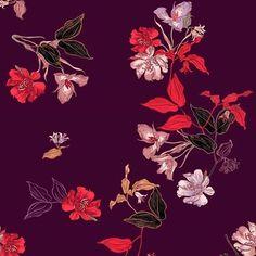 "116 Beğenme, 2 Yorum - Instagram'da Patternbank (@patternbank): ""New autumn floral pattern is now available on my patternbank page » patternbank.com/Mandarinafrog…"""