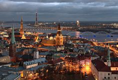 This Riga stag do package includes 2 nights 3 star hotel, breakfast, guided bar and night club tour and lap dancing club entry. Riga stag do weekend ideas by DesignaVenture. Cheap European Cities, Cities In Europe, Places To Travel, Places To See, European City Breaks, Riga Latvia, Lappland, Beautiful Architecture, Wooden Architecture