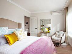 dormitorio con split