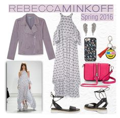 """""""Rebecca Minkoff's Spring 2016 :)"""" by melisastephens ❤ liked on Polyvore featuring Rebecca Minkoff, women's clothing, women, female, woman, misses and juniors"""