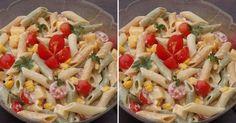 Archívy Cestovinové šaláty - Page 2 of 2 - Receptik. Pasta Salad, Salad Recipes, Food And Drink, Cooking Recipes, Treats, Fit, Ethnic Recipes, Gardening, Recipies