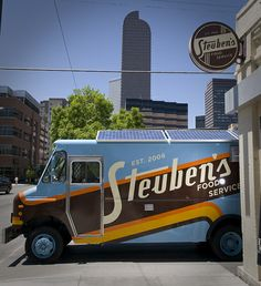 Steuben's Food Truck.  My dream engagement party.