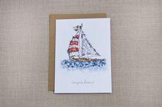 Sailboat Card | Penelope Poppy