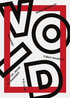 VOID Symposium Exhibition Workshops / Verlosung | Slanted - Typo Weblog und Magazin