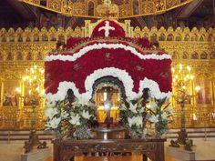 Orthodox Easter, Christ Is Risen, Palm Sunday, Greek, Christmas Tree, Seasons, Holiday Decor, Painting, Ephemera