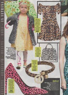 Correte in edicola ad acquistare la rivista Visto... a pag. 88 troverete il bracciale della linea #flex leopardato!  #sonobirikina #birikinidonna