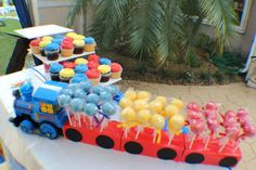 Thomas the Train Birthday Party Ideas | Photo 1 of 14 | Catch My Party