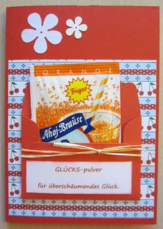 Diamantin´s Hobbywelt: Brausepulver-Karten Diamantin's Hobby World: Effervescent Powder Cards Diy Christmas Presents, Diy Presents, Christmas Diy, Birthday Gift For Wife, Diy Birthday, Diy Gifts For Friends, Best Friend Gifts, Cadeau Surprise, Diy Cadeau Noel