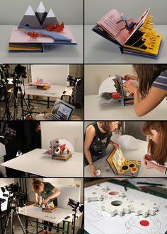 Helen Friel & Friends / Revolution Pop Up Animation
