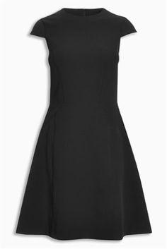 Kompaktes Kleid, schwarz heute online kaufen bei Next: Deutschland