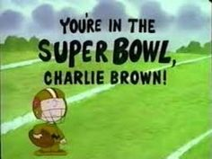 You're in the Super Bowl, Charlie Brown.. Follow me & The Gang :) https://www.pinterest.com/plzmrwizard67/