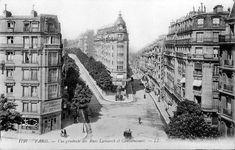 ParisparvU | Rue Caulaincourt Paris 18ème