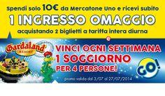 Ingresso omaggio Gardaland con Mercatone Uno - http://www.omaggiomania.com/omaggi-con-acquisto/ingresso-omaggio-gardaland-con-mercatone-uno/