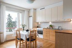 Timo Kanerva myy Madetojankuja 3h+k+kph+p 74,5m2 Decor, Furniture, Table, Home, Home Decor