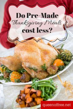 Check out this great post with price comparisons of 7 restaurants and grocery stores for pre-made thanksgiving meals to go! Includes prices for Whole Foods, Target, Meijer, Kroger, Cracker Barrel, Boston Market, and Bob Evans.