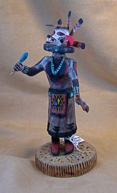 White Bear Kachina    Artist: Eugene Gaddy, Hopi