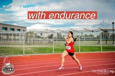 Let us run with endurance the race God has set before us. Unity Games, Churches Of Christ, We Run, Verse Of The Day, Before Us, Bible Verses, Hebrews 12, Racing, Let It Be