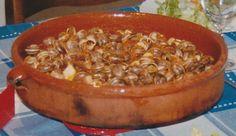 Caracoles picantes by www.vinosyrecetas.com