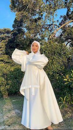 Modest Outfits Muslim, Modest Fashion Hijab, Modern Hijab Fashion, Modesty Fashion, Hijab Fashion Inspiration, Modest Wedding Dresses, Muslim Fashion, Summer Dresses, Hijab Look