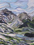 """Cool Melt Medium: Acrylic on Canvas Size: 40"""" x 30"""""""