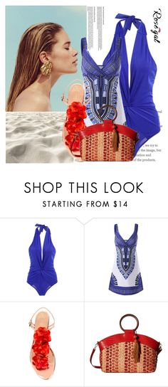 """""""Mini Dress for Summer *77"""" by zenabezimena ❤ liked on Polyvore featuring Charlotte Olympia, Sam Edelman, Summer, fashionset, polyvoreeditorial and rosegal"""