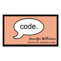 It computer programmer technician double sided standard business thought cloud code programmer business card reheart Choice Image