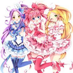 Résultats de recherche d'images pour «pretty rhythm manga»