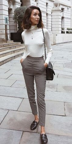Casual Work Outfits, Business Casual Outfits, Professional Outfits, Office Outfits, Fall Outfits, Comfy Work Outfit, Casual Office, Womens Formal Pants Outfits, Formal Pants Women