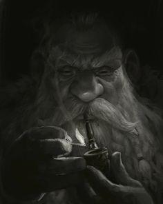 Dwarf by Sergey Kykhylov. ArtStation