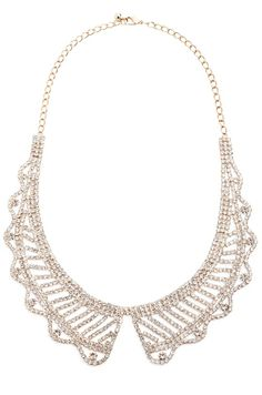 Crystal Collar Necklace / jewelmint